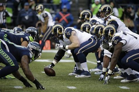 seahawks  rams full st louis game preview bleacher