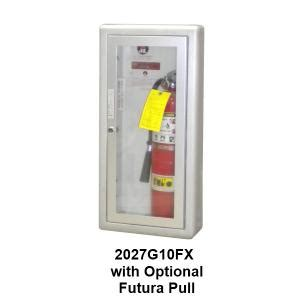 academy series aluminum fire extinguisher cabinet