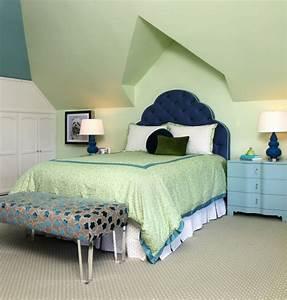 Bleu Vert D Eau : chambre verte vert d 39 eau verte et blanche ou vert gris ~ Preciouscoupons.com Idées de Décoration