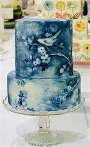 Blue Wedding Cakes Design