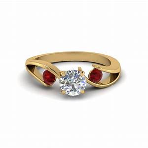 get great deals on three stone ruby engagement rings With gold wedding rings with ruby