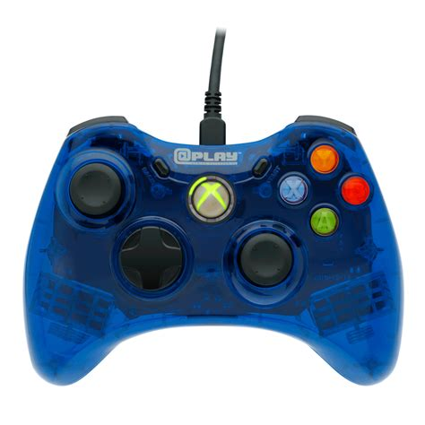 xbox  wired controller blue xbox  gamestop