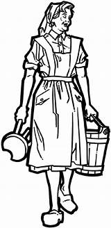 Maid Milking Vinyl Stool Line Farming Farmer Bucket Decals Crops Agriculture Carrying Beevault Signspecialist Customize Sticker sketch template