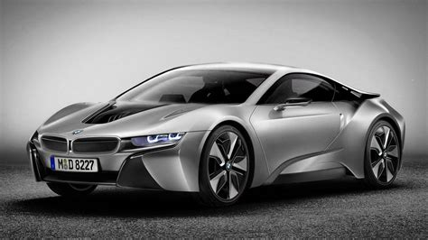 2014 Bmw I8 Coupe Production Sheet-metal Revealed