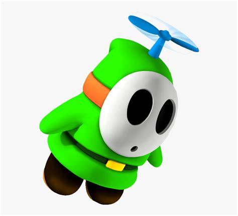 foto de Transparent Fly Guy Clipart Green Shy Guy Mario HD Png