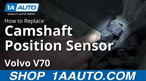 install replace camshaft position sensor volvo