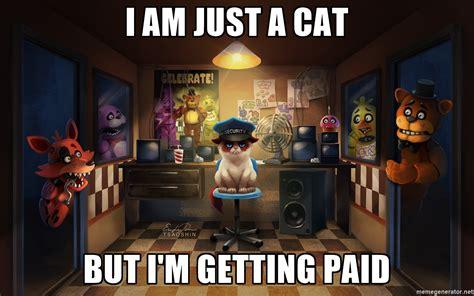 pixilart grumpy cat security guard fnaf uploaded