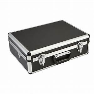 18 in. x 6 in. x 13 in. Black Aluminum Case
