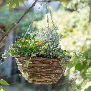 Corbeille à Suspendre : corbeille jardini re suspendre pots de fleurs jardini res ~ Teatrodelosmanantiales.com Idées de Décoration