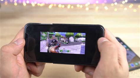 playing fortnite mobile  iphone gamengadgets