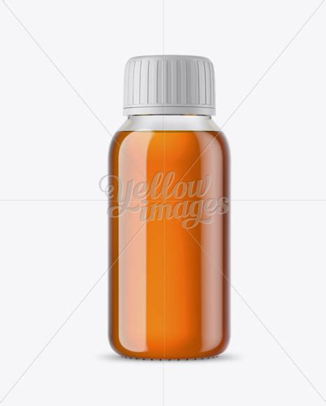 The best source of free bottle mockup psd templates for your project. Clear Glass Bottle With Orange Syrup Mockup in Bottle ...
