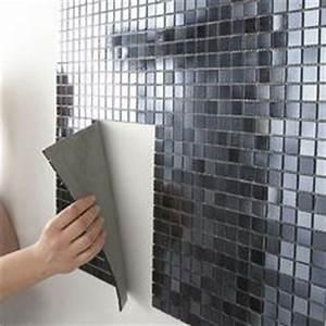 les 25 meilleures idees de la categorie carrelage adhesif With carrelage adhesif salle de bain avec canapé design avec led