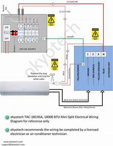 Ac Split Wiring Diagram