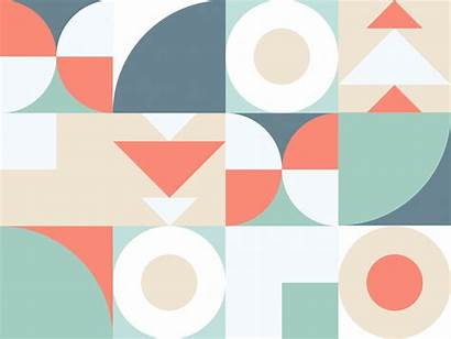 Shapes Moving Triangle Dribbble
