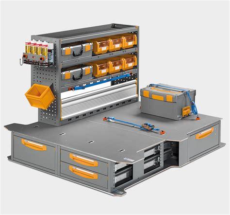 scaffali furgoni scaffalature per furgoni e cassettiere portautensili