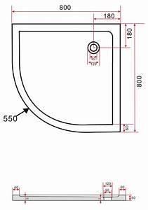 Duschkabine 175 Cm Hoch : duschkabine angolo 80 x 80 x 180 cm viertelkreis inkl ~ Michelbontemps.com Haus und Dekorationen