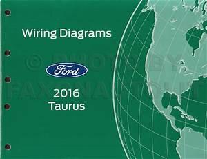 2016 Ford Taurus Repair Shop Manual On Cd