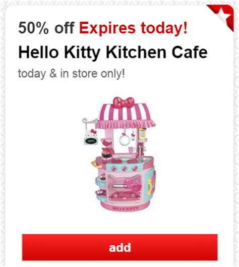 hello kitty kitchen cafe couponing hello kitty kitchen cafe only 30