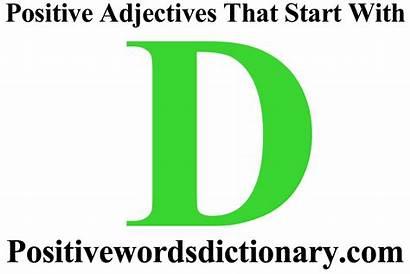 Adjectives Start Positive 2596