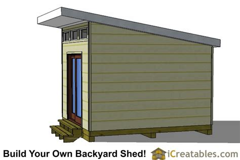 studio shed plans   office shed plans