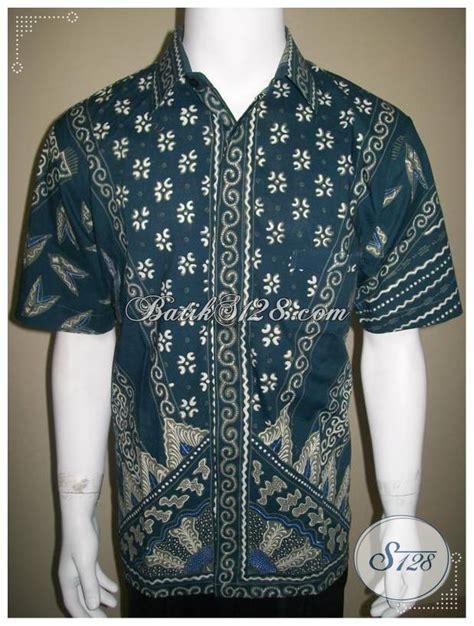 kemeja batik pria 2013 baju batik tulis milo motif modern