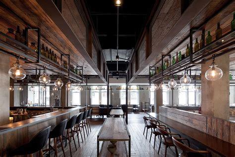 industrial style tv lift mercato restaurant shanghai by neri hu yellowtrace