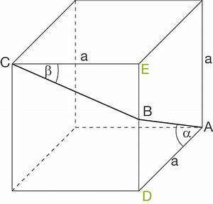 Umbauten Raum Berechnen : streckenzug trigonometrie in k rpern geometrie im raum baden w rttemberg l sungen ~ Themetempest.com Abrechnung