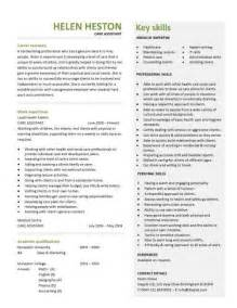 Cover Letter For Learning Support Assistant Care Manager Cv Template Personal Summary Career History Healthcare Professional Managerial