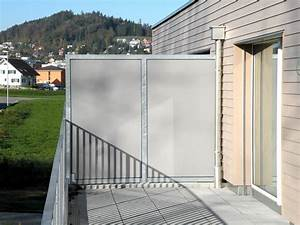 sichtschutz sonnensegel keller kirchberg With garten planen mit balkon trennwand glas