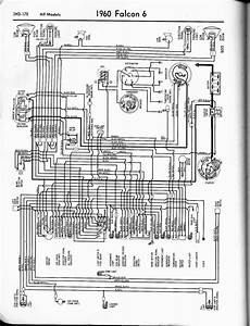 Free Auto Wiring Diagram  1960 Ford Falcon V6 Wiring