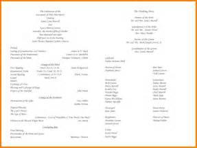 catholic wedding program templates with mass 7 catholic wedding program resume reference