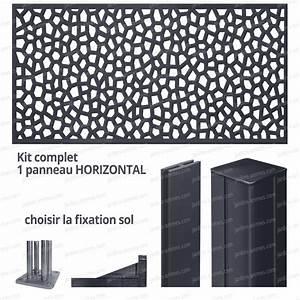 Panneau Décoratif Extérieur : kit panneau d coratif mosaic horizontal 2m x 1m en r sine ~ Premium-room.com Idées de Décoration