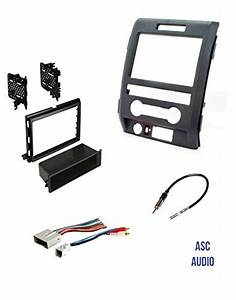 Asc Audio Car Stereo Radio Install Dash Kit  Wire Harness