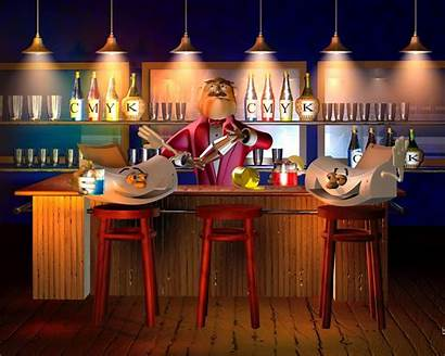 Bar Wallpapers 3d Pub Background Desktop Laptop