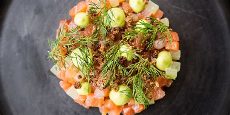 gin  tonic cured salmon recipe great british chefs