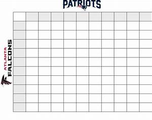 printable 2015 nfc football squares autos post With super bowl betting pool template