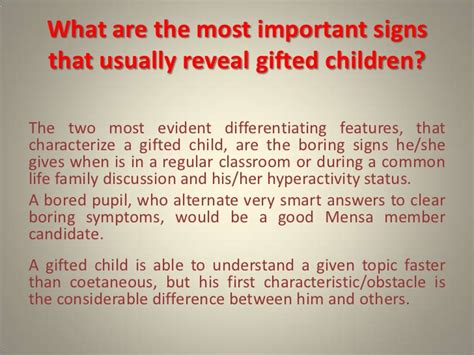 differentiating features of gifted children and dealing 511 | differentiating features of gifted children and dealing with high iq societies 3 728