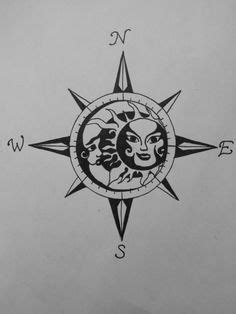 tattoo compass sun - Google Search   Moon tattoo designs, Compass tattoo, Moon sun tattoo