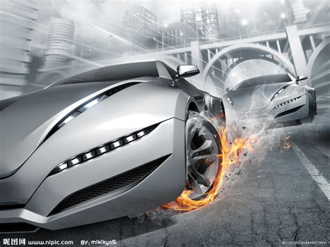 赛车设计图__交通工具_现代科技_设计图库_昵图网nipic.com