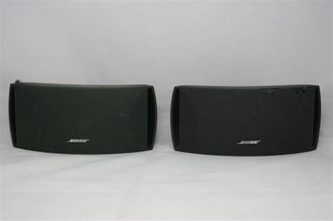 bose surround speaker 2 bose 3 2 1 surround sound speakers 321 ebay