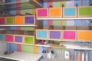 Casier Rangement Papier : fabriquer un casier de rangement en carton galerie photos d 39 article 14 14 ~ Teatrodelosmanantiales.com Idées de Décoration