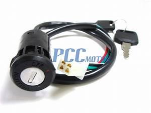 4 Wires Atv Ignition Switch Dirt Bike Go Kart Moped Kazuma