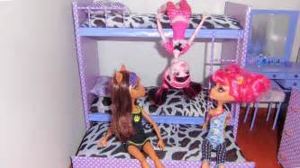 how to make a bunk bed for doll monster high barbie etc