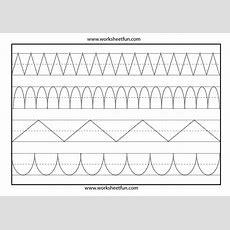 Line Tracing  1 Worksheet  Free Printable Worksheets Worksheetfun