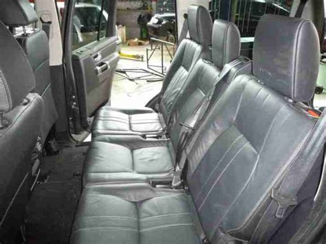 land rover discovery  commercial van seat conversion