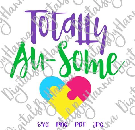Freesvg.org offers free vector images in svg format with creative commons 0 license (public domain). Totally Au-some SVG Files for Cricut Autism Awareness ...