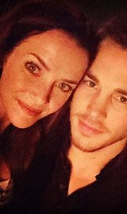 Annie Wersching and Chris Wood - The Vampire Diaries TV ...
