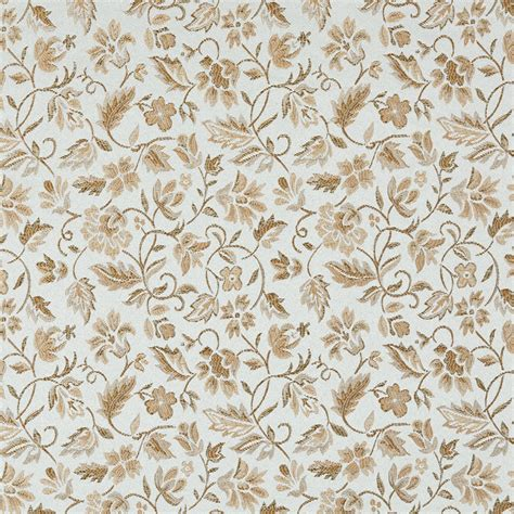 floral upholstery fabric floral light blue and gold damask upholstery fabric by the