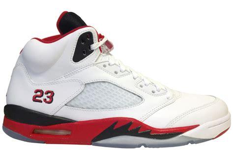 Air Jordan 5 V Retro Fire Red Black Tongue 2013