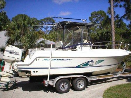 Fishing Boats For Sale Indonesia by 2001 Aquasport Osprey 225 Offshore Fishing Boat For Sale